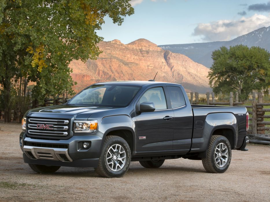 2014 GMC Canyon All Terrain Extended Cab pickup 4x4  fs wallpaper