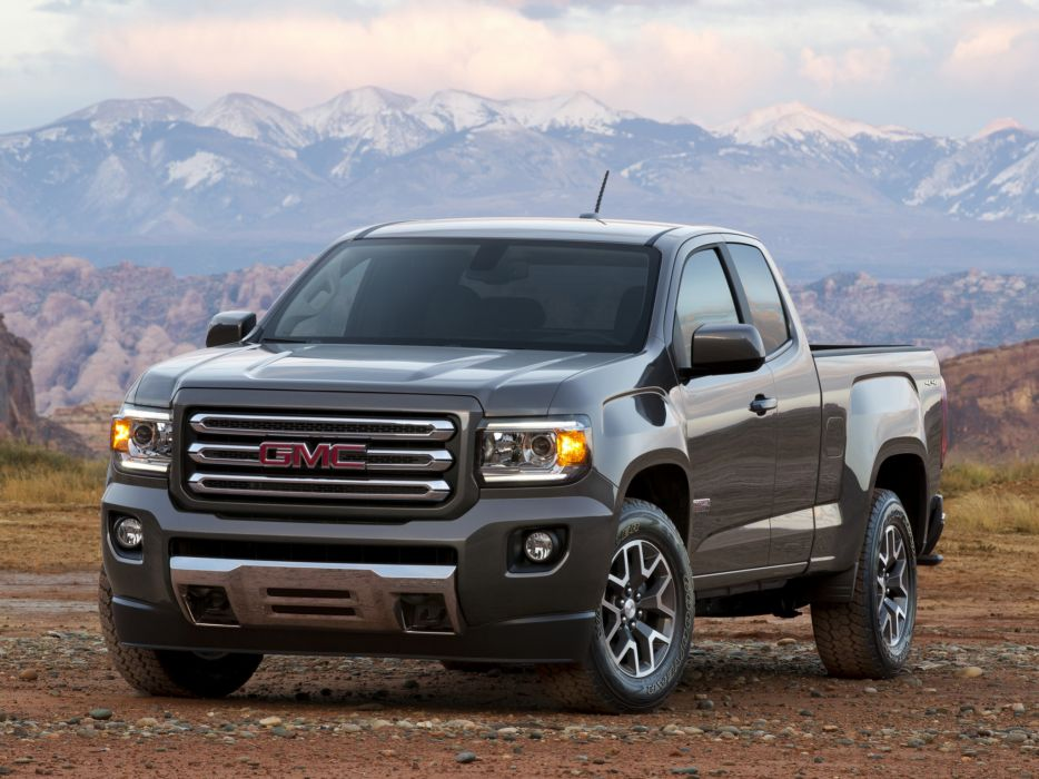 2014 GMC Canyon All Terrain Extended Cab pickup 4x4  g wallpaper