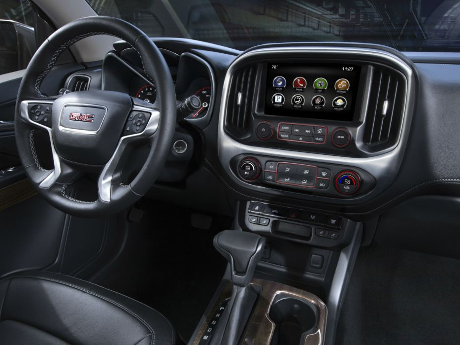 2014 GMC Canyon SLT Crew Cab pickup 4x4 interior   h wallpaper