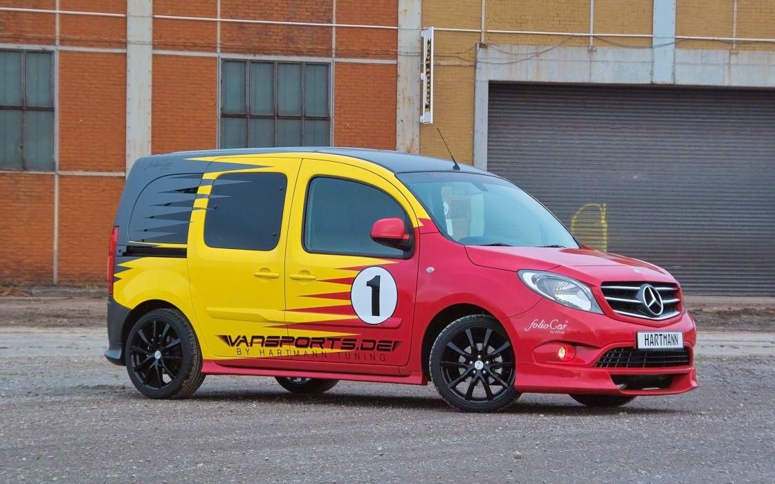 2014 Hartmann-Tuning Vansports Mercedes Benz Citan van tuning  f wallpaper