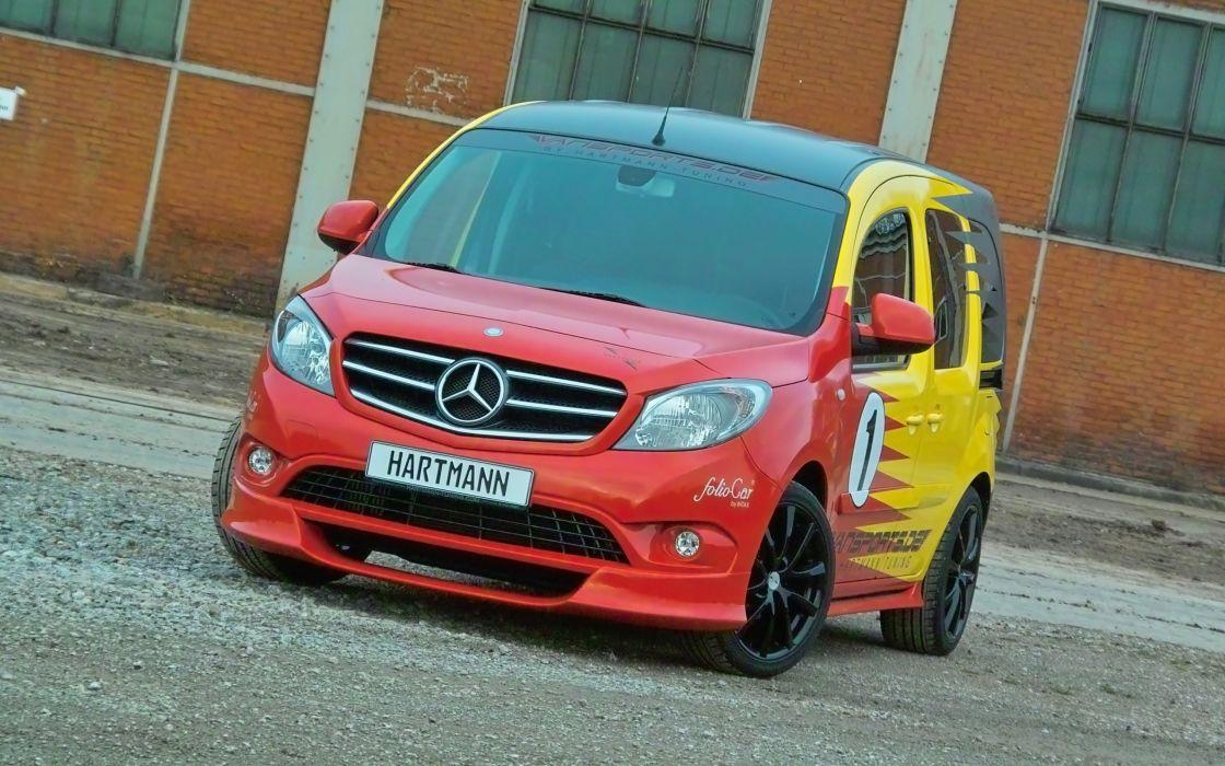 2014 Hartmann-Tuning Vansports Mercedes Benz Citan van tuning     d wallpaper
