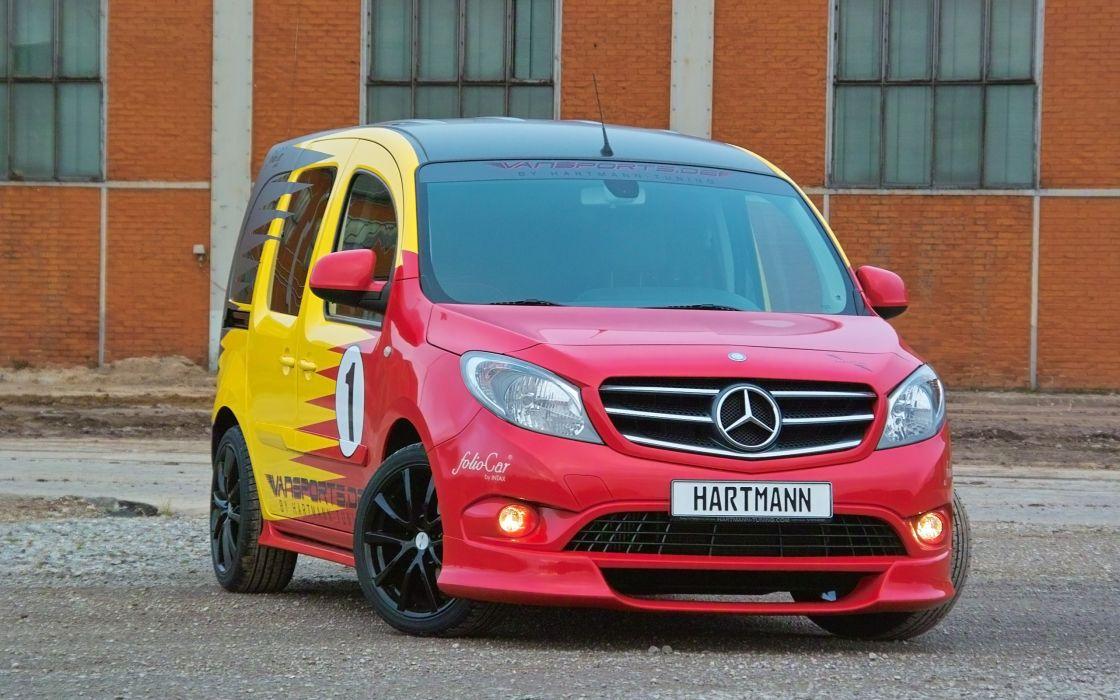 2014 Hartmann-Tuning Vansports Mercedes Benz Citan van tuning  g wallpaper