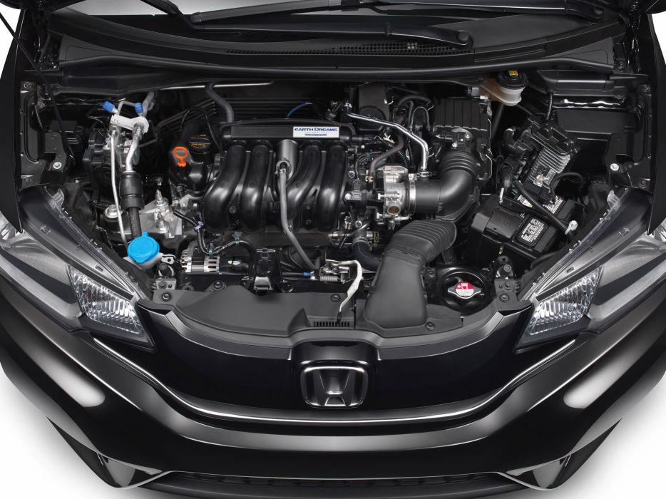 2014 Honda Fit US-spec engine      f wallpaper