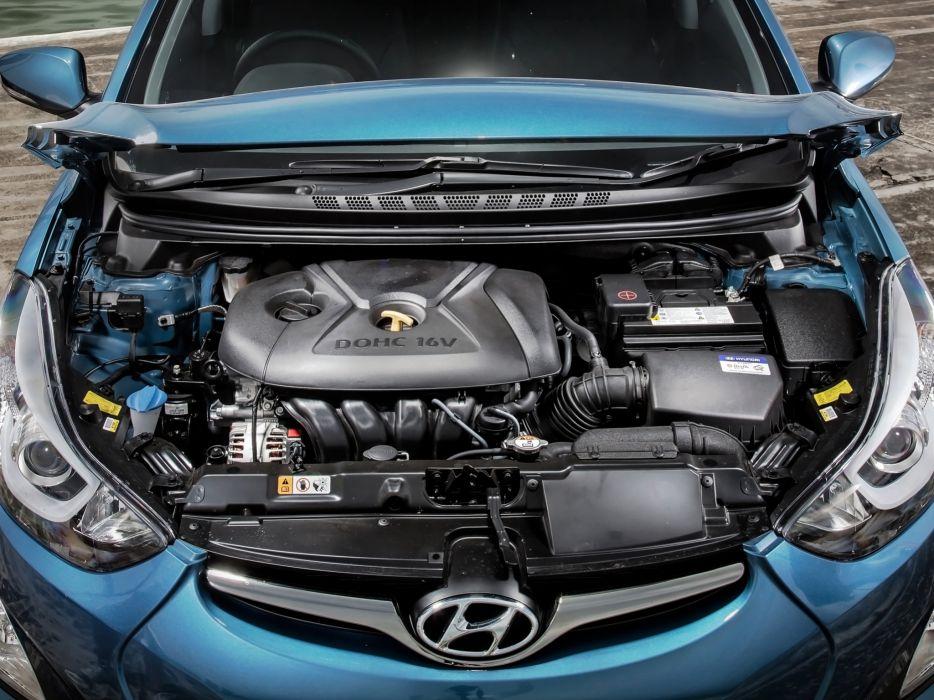 2014 Hyundai Elantra AU-spec (M-D) engine    g wallpaper