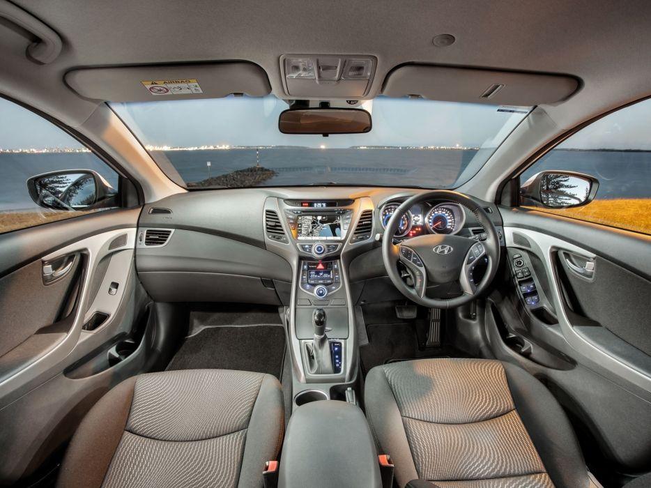 2014 Hyundai Elantra AU-spec (M-D) interior     g wallpaper