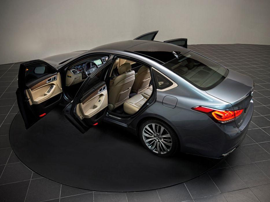 2014 Hyundai Genesis US-spec interior   f wallpaper