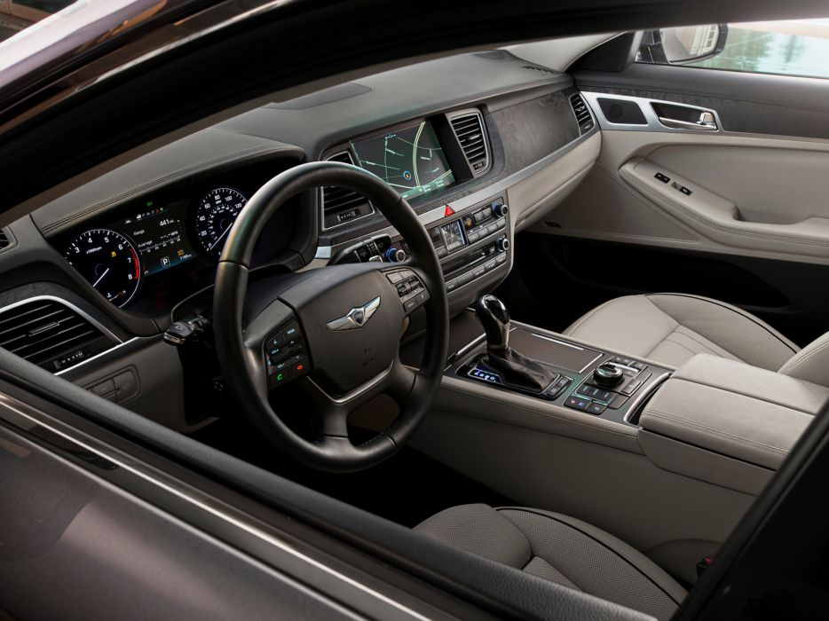 2014 Hyundai Genesis US-spec interior   f wallpaper