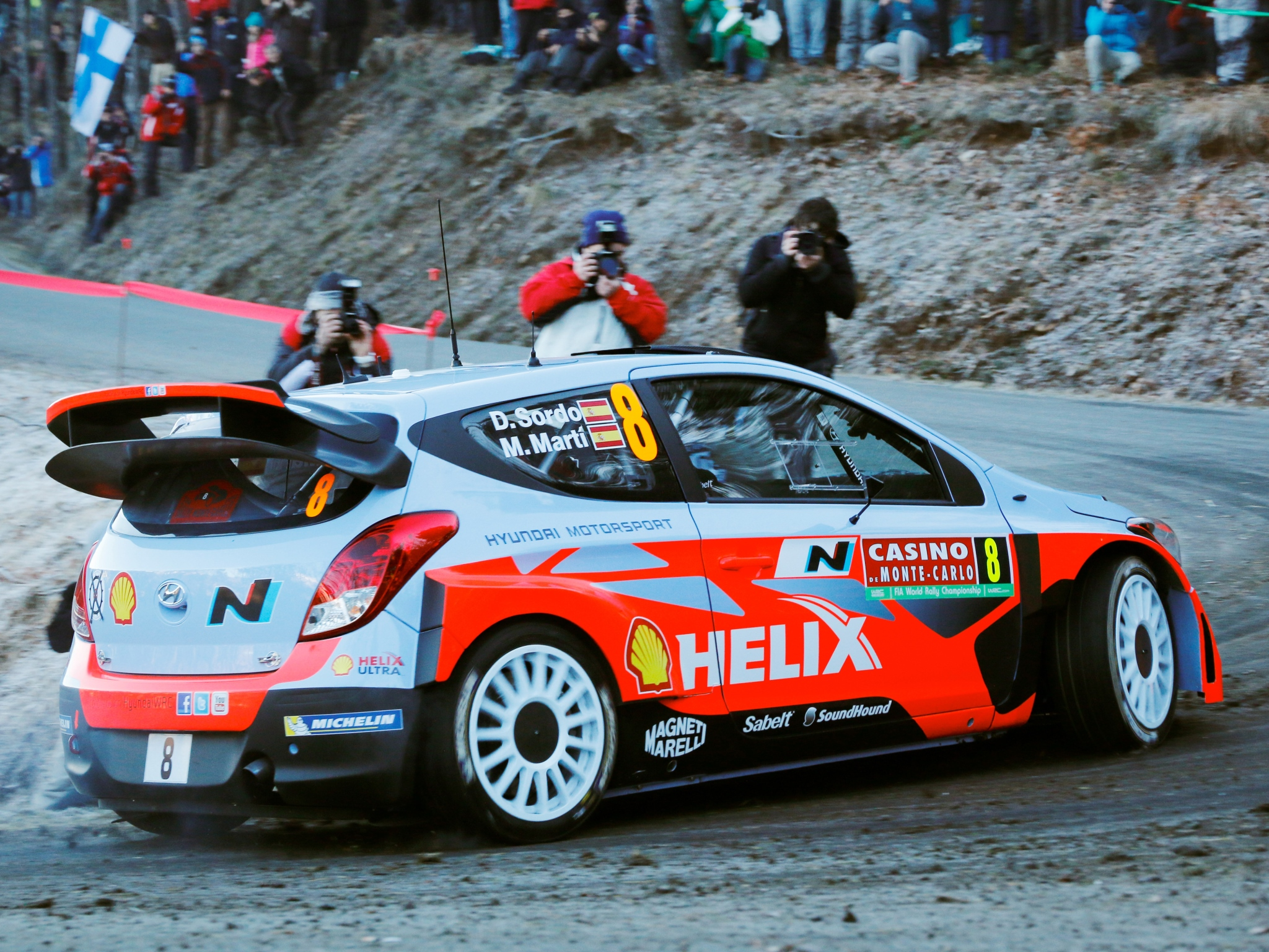 Hyundai Cars 2014 >> 2014 Hyundai i20 WRC race racing h wallpaper | 2048x1536 | 230756 | WallpaperUP