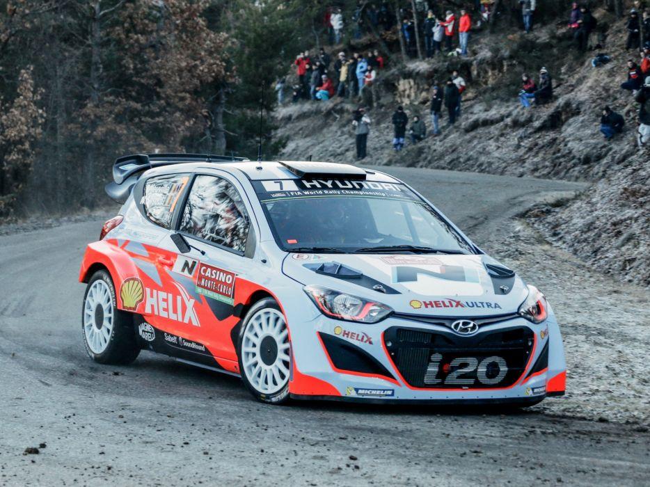 2014 Hyundai i20 WRC race racing v wallpaper