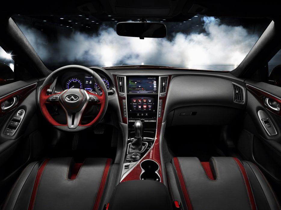 2014 Infiniti Q50 Eau Rouge Concept interior     g wallpaper