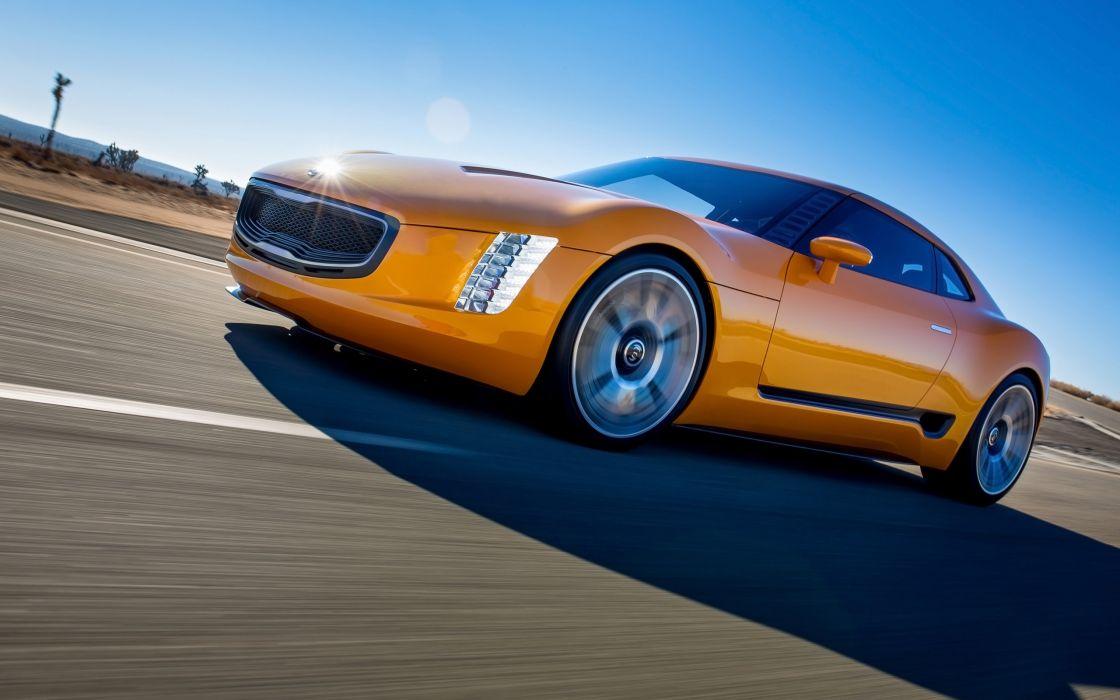 2014 Kia GT4 Stinger Concept supercar  fd wallpaper