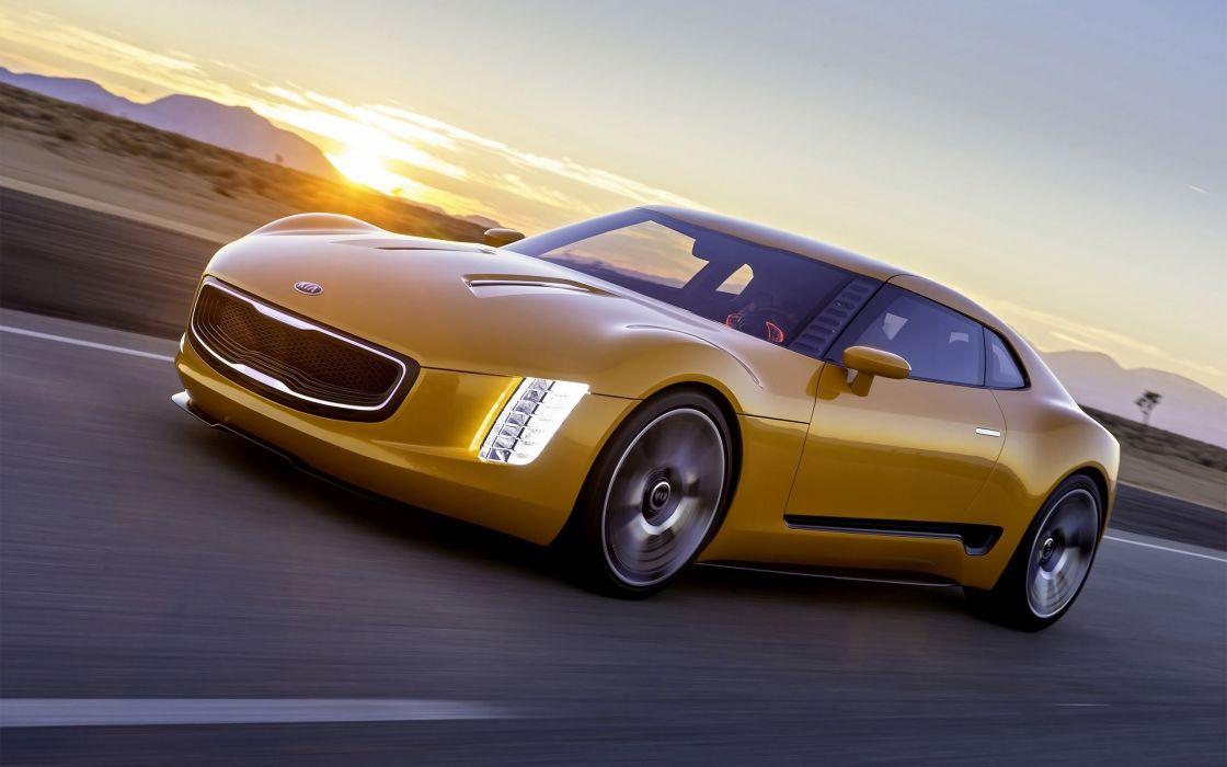 2014 Kia GT4 Stinger Concept supercar  gd wallpaper