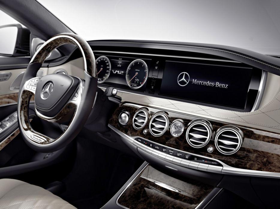 2014 Mercedes Benz S600 (W222) luxury interior      j wallpaper