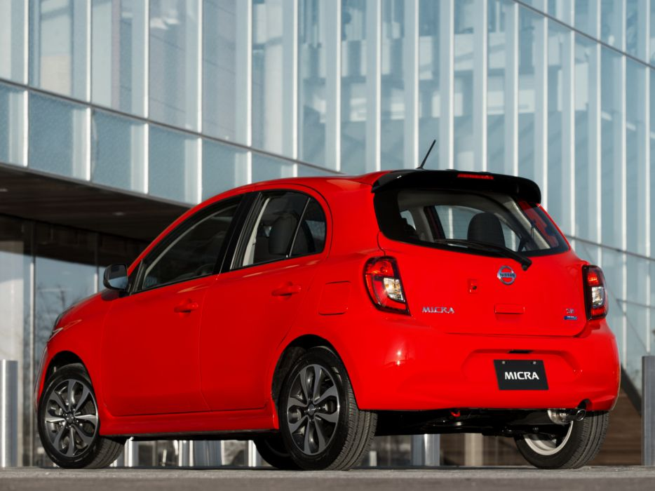 2014 Nissan Micra CA-spec (K13)  r wallpaper