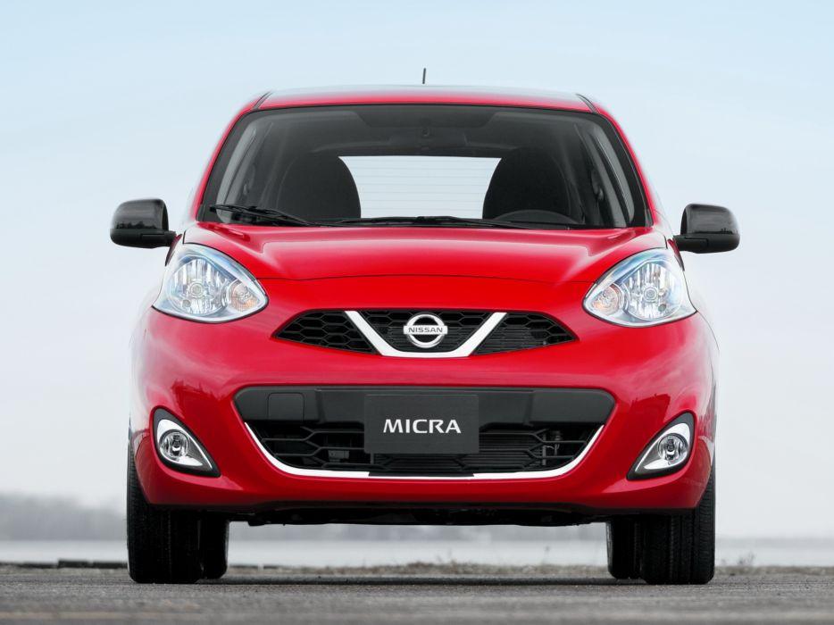2014 Nissan Micra CA-spec (K13) rr wallpaper