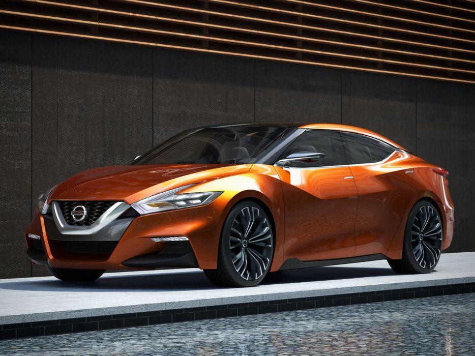 2014 Nissan Sport Sedan Concept   f wallpaper