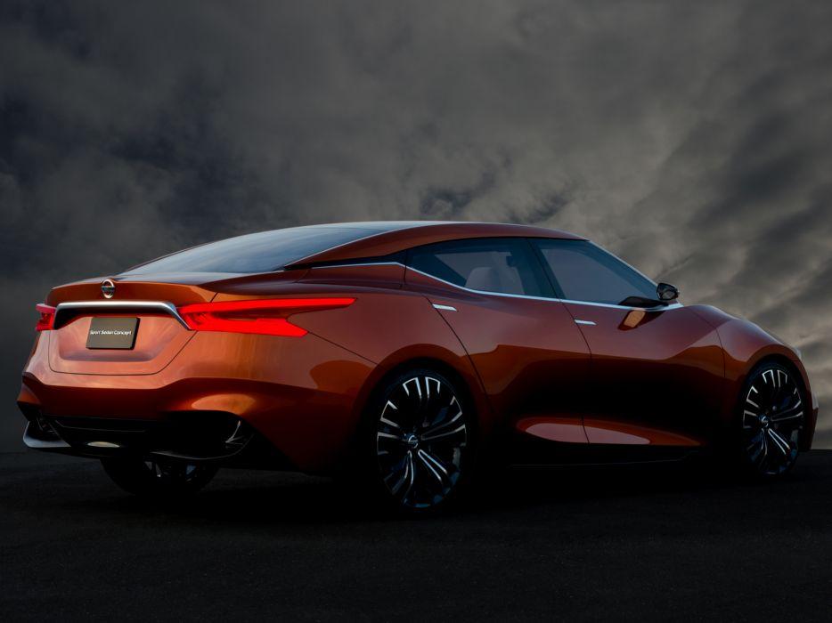 2014 Nissan Sport Sedan Concept   h wallpaper