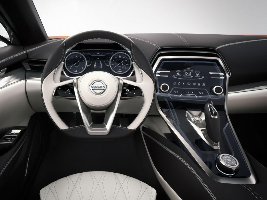 2014 Nissan Sport Sedan Concept interior  r wallpaper