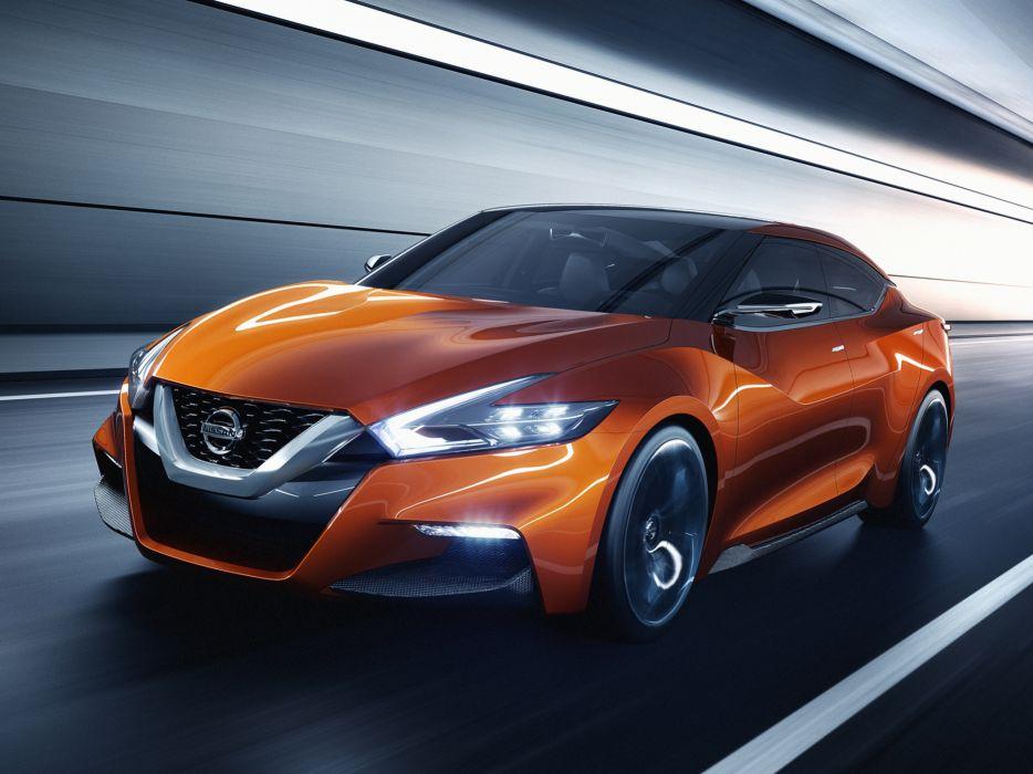 2014 Nissan Sport Sedan Concept  r wallpaper