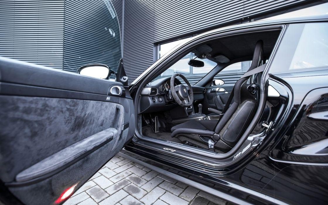 2014 OK-Chiptuning Porsche GT2 Clubsport tuning supercar interior     f wallpaper