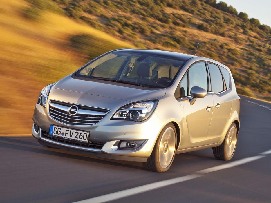 2014 Opel Meriva (B) suv van t wallpaper