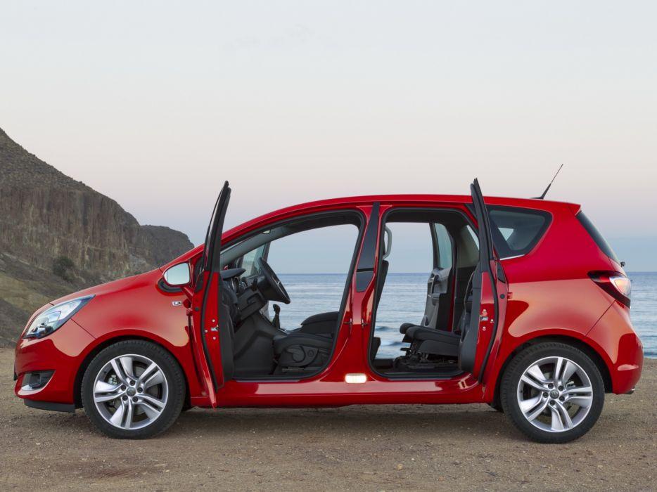 2014 Opel Meriva (B) suv van interior   h wallpaper