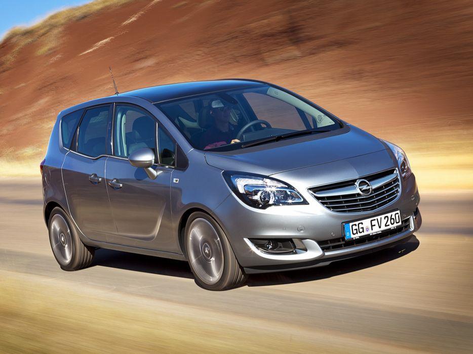 2014 Opel Meriva (B) suv van he wallpaper
