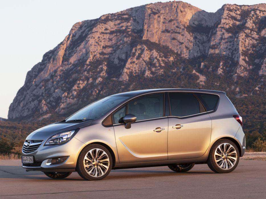 2014 Opel Meriva (B) suv van  g wallpaper