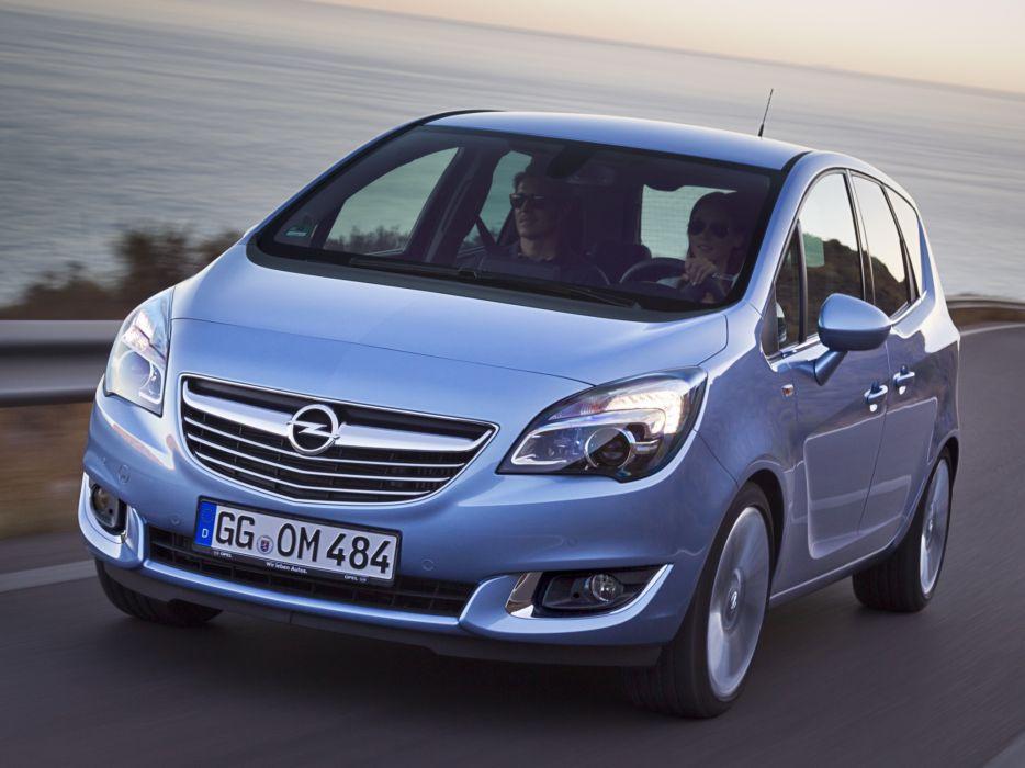 2014 Opel Meriva (B) suv van   j wallpaper