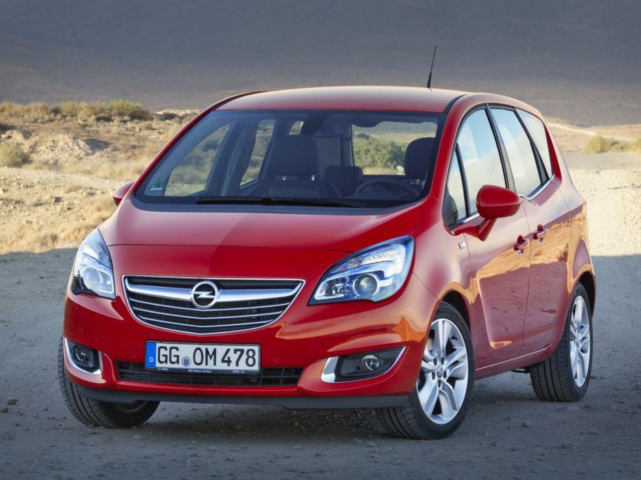 2014 Opel Meriva (B) suv van   h wallpaper