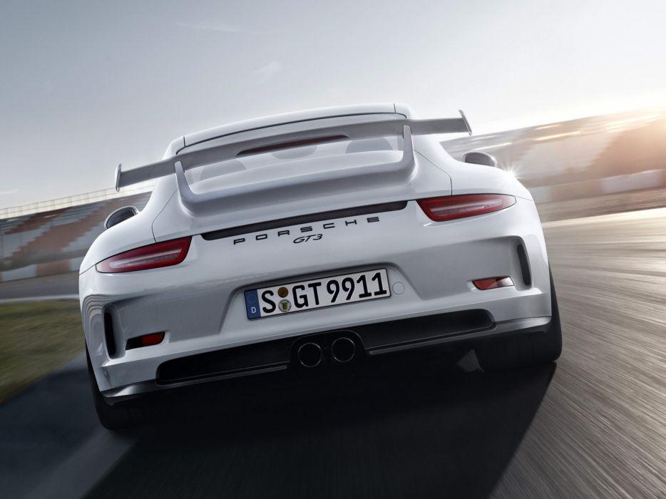 2014 Porsche 911 GT3 991 supercar  fs wallpaper