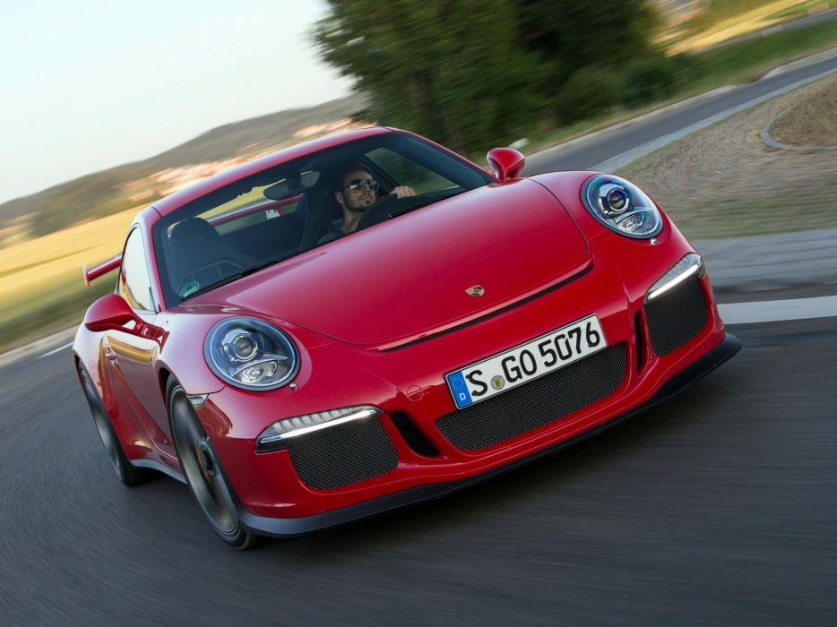 2014 Porsche 911 GT3 991 supercar db wallpaper