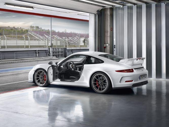 2014 Porsche 911 GT3 991 supercar interior f wallpaper