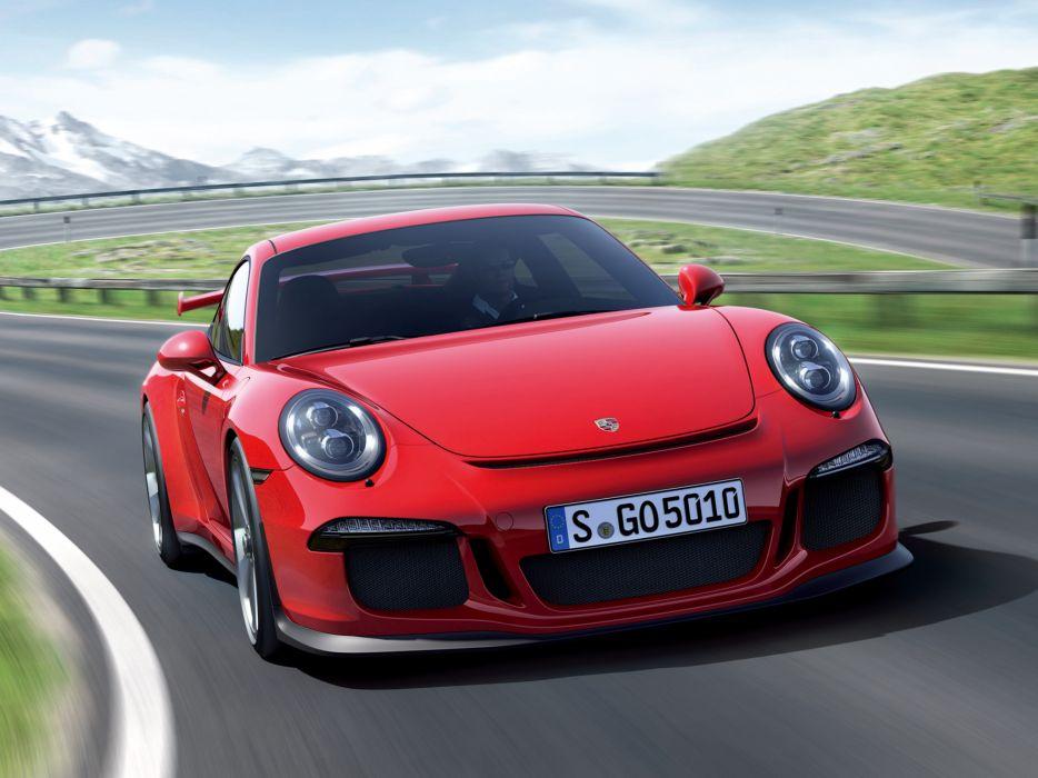 2014 Porsche 911 GT3 991 supercar g wallpaper