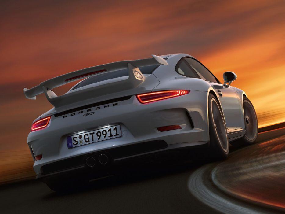2014 Porsche 911 GT3 991 supercar fa wallpaper