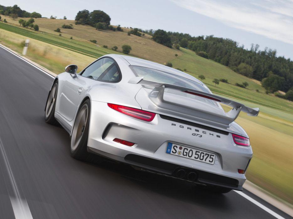 2014 Porsche 911 GT3 991 supercar v wallpaper