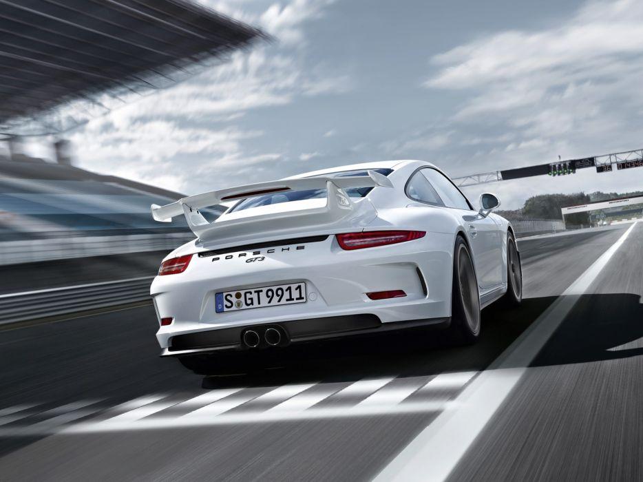 2014 Porsche 911 GT3 991 supercar ds wallpaper