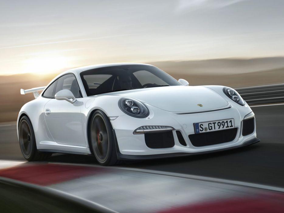 2014 Porsche 911 GT3 991 supercar f wallpaper