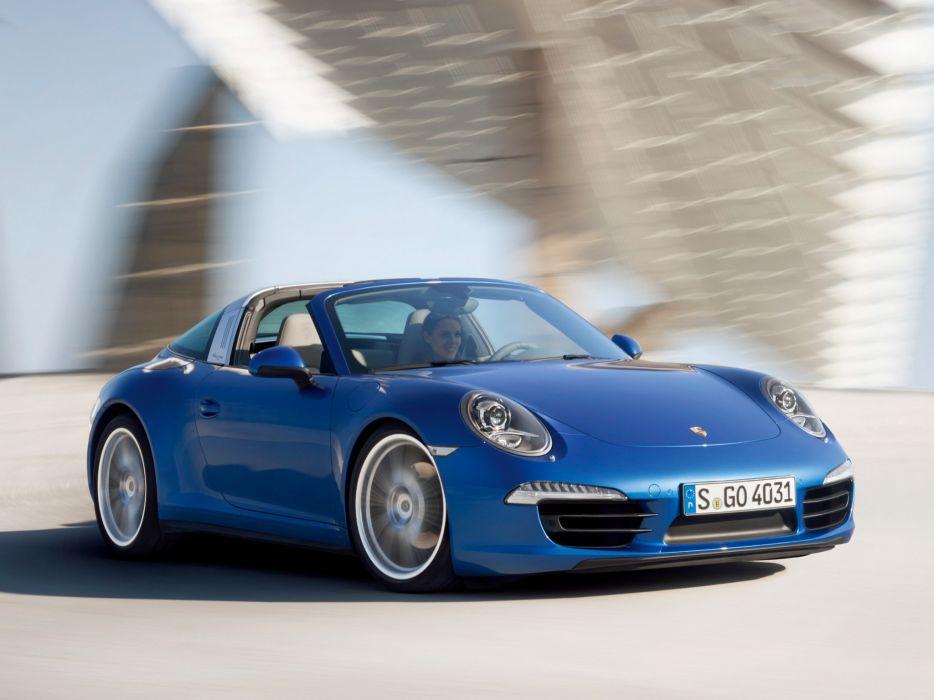 2014 Porsche 911 Targa 4 (991) supercar      f wallpaper