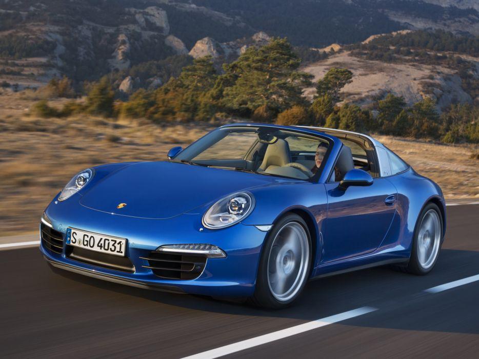 2014 Porsche 911 Targa 4 (991) supercar    r wallpaper