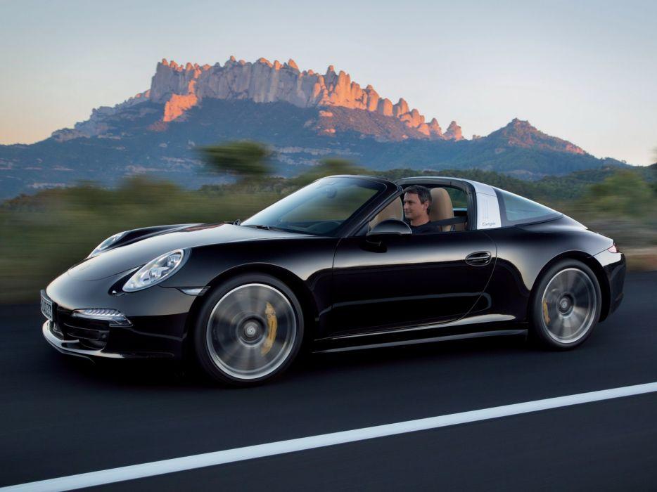 2014 Porsche 911 Targa 40S (991) supercar  f wallpaper
