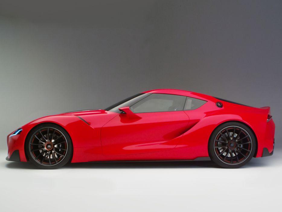 2014 Toyota FT-1 Concept supercar supra ds wallpaper