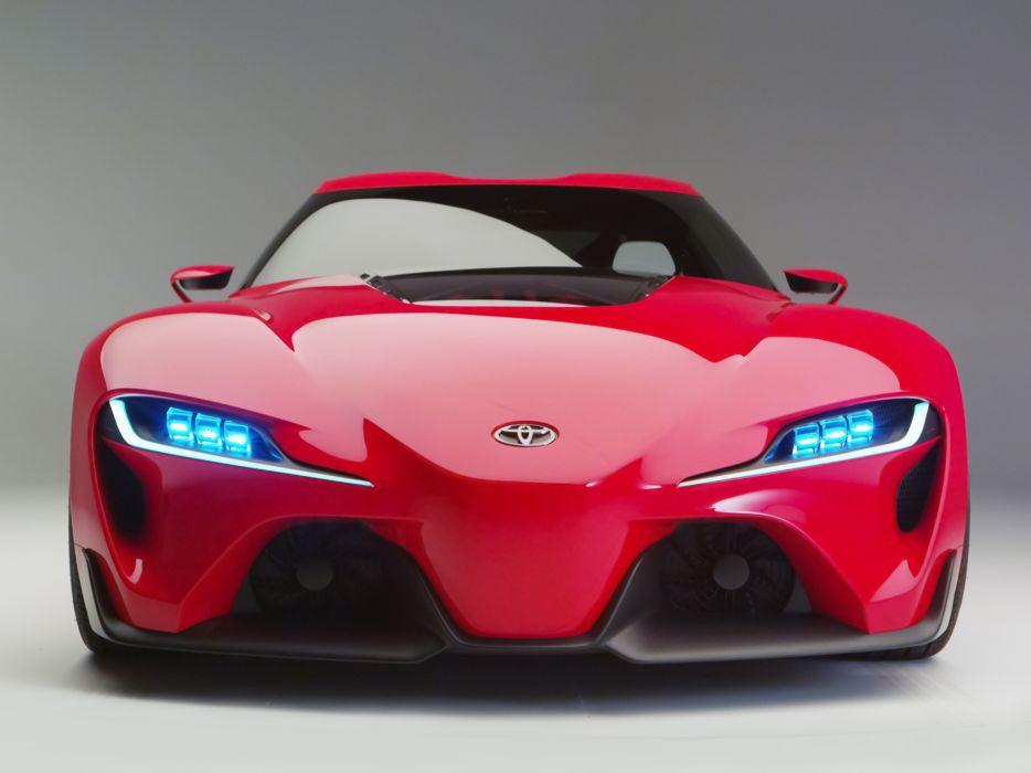 2014 Toyota FT-1 Concept supercar supra d wallpaper