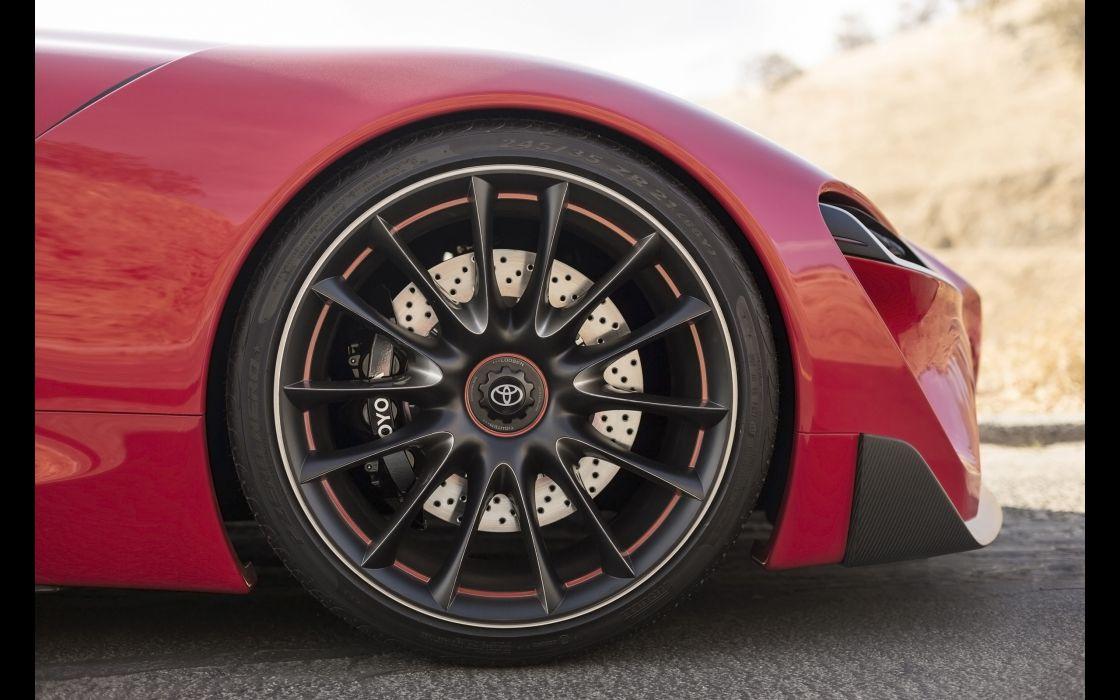 2014 Toyota FT-1 Concept supercar wheel  d wallpaper