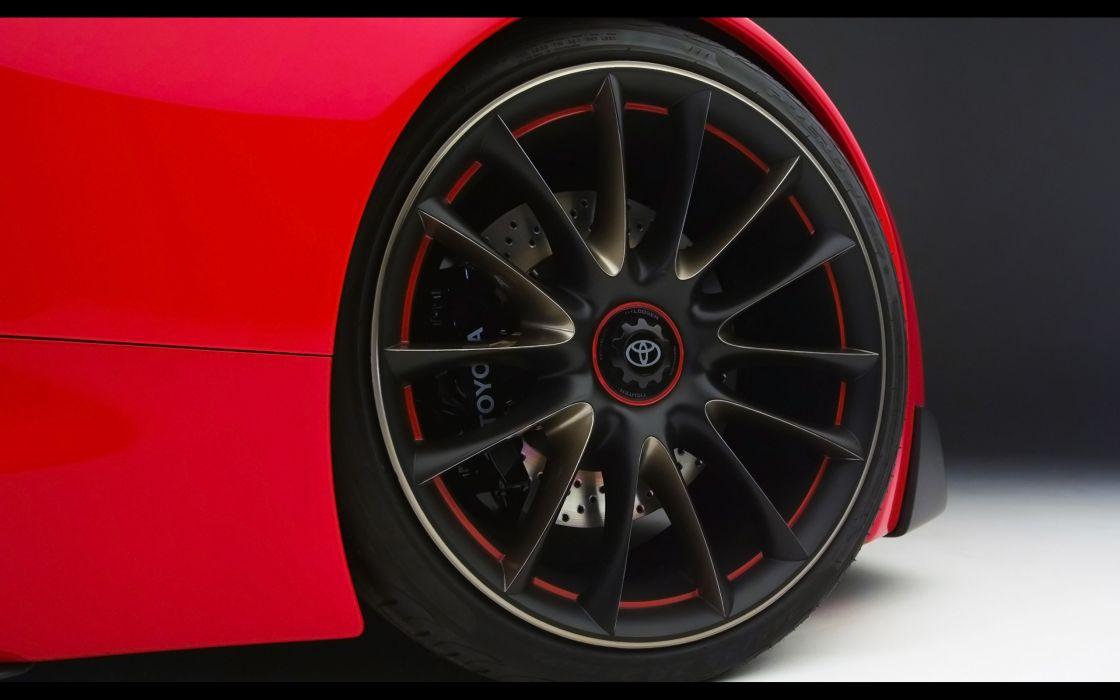 2014 Toyota FT-1 Concept supercar wheel  fd wallpaper