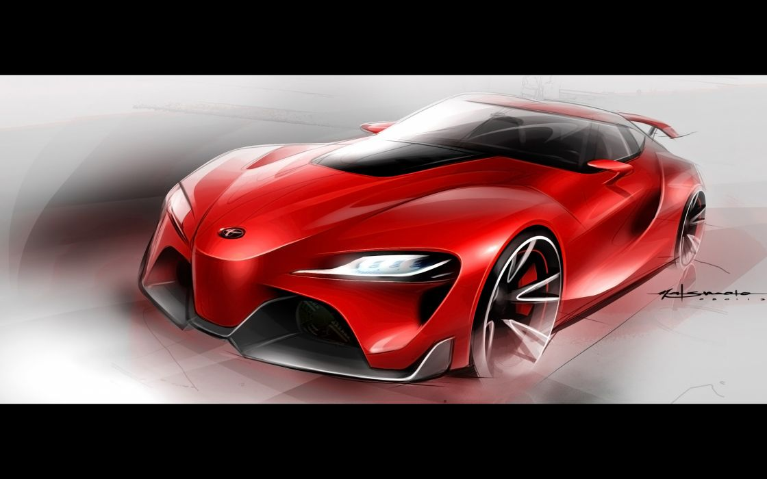 2014 Toyota FT-1 Concept supercar  ds wallpaper