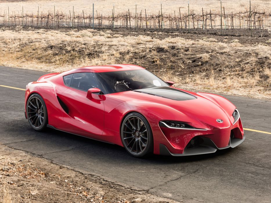 2014 Toyota FT-1 Concept supercar  d wallpaper