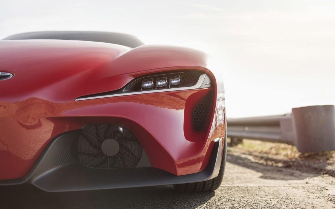 2014 Toyota FT-1 Concept supercar df wallpaper
