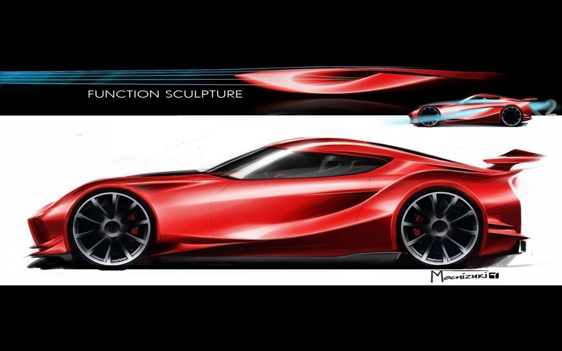2014 Toyota FT-1 Concept supercar f wallpaper
