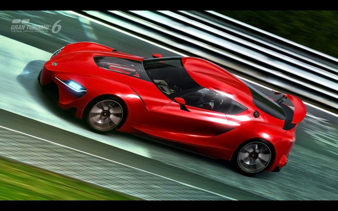 2014 Toyota FT-1 Concept supercar Gran Turismo   g wallpaper